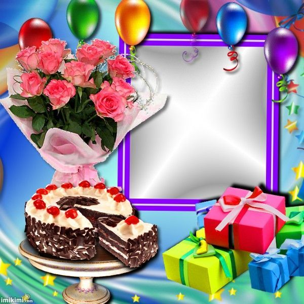 Imikimi Photo Frame Birthday Pixiz Love.Happy Birthday Lissy005 Imikimi S To Save For Later Use