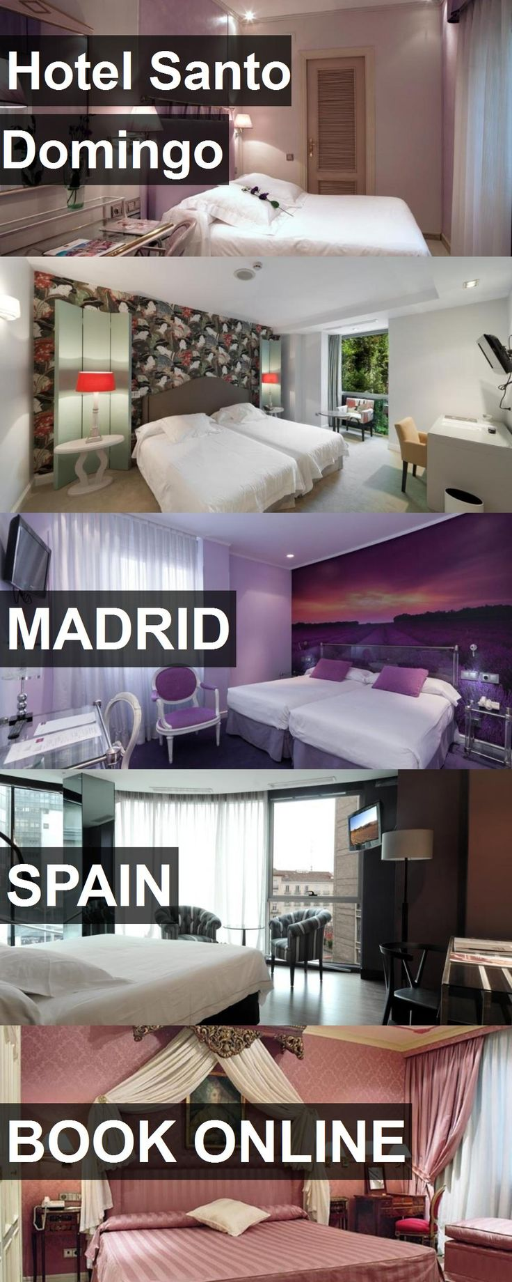 Hotel Santo Domingo in Madrid, Spain. For more information, photos, reviews and best prices please follow the link. #Spain #Madrid #travel #vacation #hotel