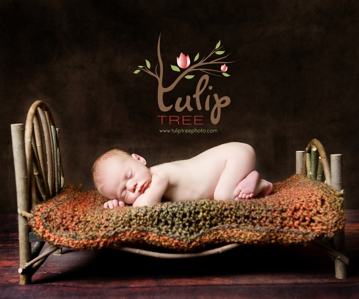Rustic western newborn baby photo ideas