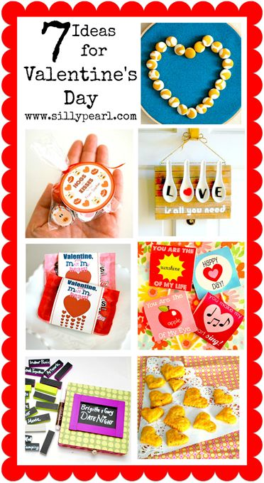 7 Great Valentines Day Ideas!  via @@Steph2Pigs The Silly Pearl