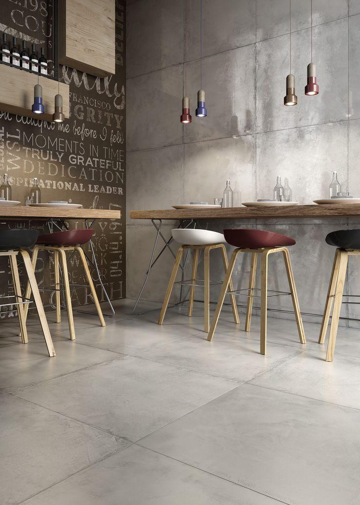 66 best tegelhuys betonlook vloeren tegels tiles - Vloeren vinyl cement tegel ...