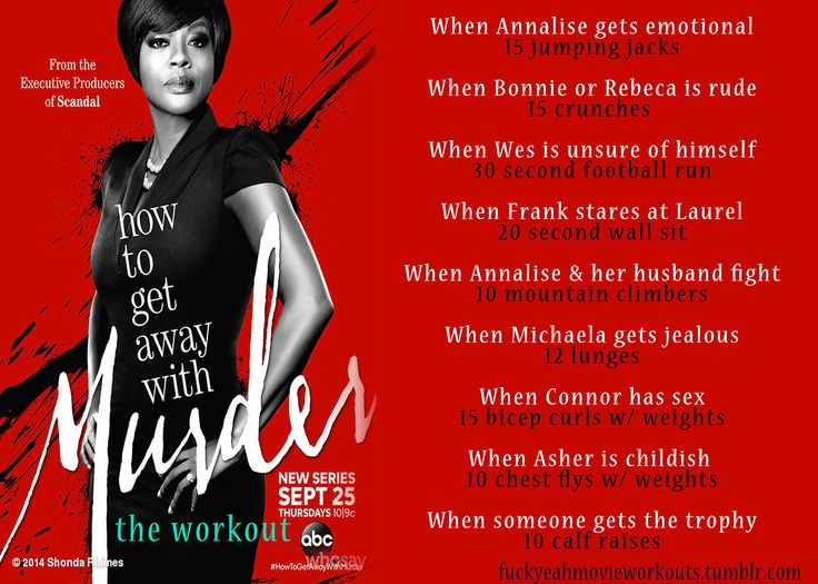 implicitdemandforjoshdun:  fuckyeahmovieworkouts:  How To Get Away With Murder…the workout! Wanna see more like this? Follow us here.   Why is that picture of Annalise so edited tho????  I thought the same thing too but it's because that picture is the official poster for the show.