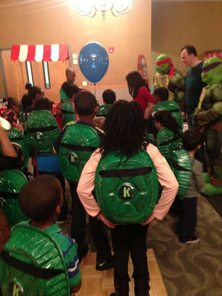 Ninja Turtle Party    CatchMyParty.com