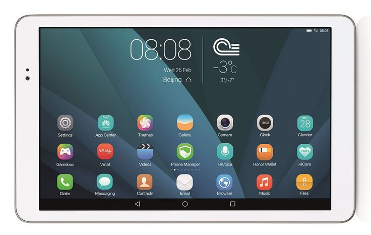 Huawei MediaPad T1 10.0 Unlocked Ultra Thin Tablet, 9.6-Inch 8GB 3G GSM Quad-Core - White. MediaPad T1 10.0 can work as your mobile phone and tablet. Enjoy endless online possibilities that's faster with 3G and Wi-Fi connections and support for high-speed network connections and high quality voice calls. 8GB of storage, 1 GB RAM and an expandable Micro SD card for storing all your pictures, music, movies and apps. The 4800 mAh battery is built to last a long time, Browse the web for up to…