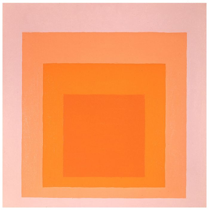 ~Josef Albers~    Desert Glow     (1971)  f0rTyLeGz