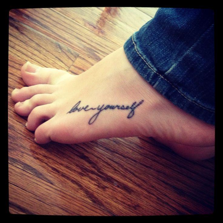 Love yourself tattoo body art pinterest tattoo piercings love yourself tattoo urmus Image collections