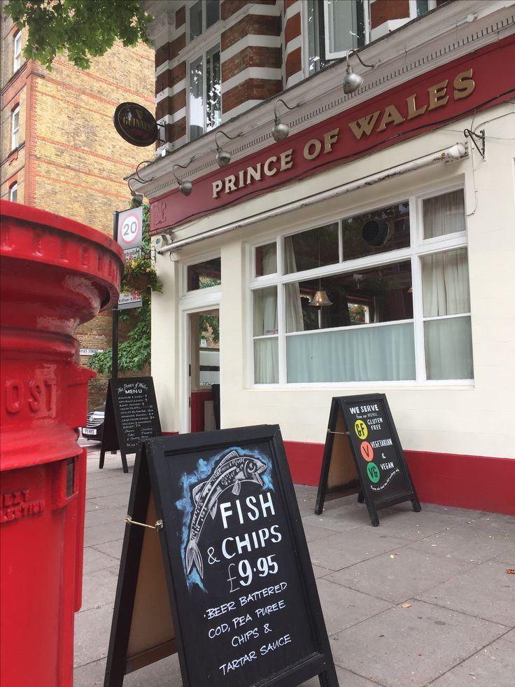 Fish & chips at the local Pub (Photos by Henry Boateng)