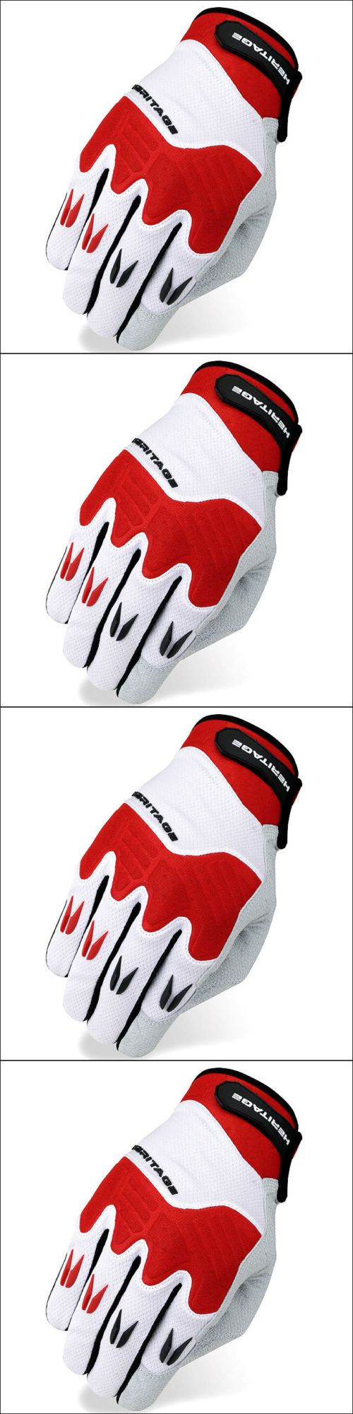 Riding Gloves 95104: 06 Size Heritage Polo Pro Horse Riding Equestrian Padded Glove White Red -> BUY IT NOW ONLY: $36.99 on eBay!