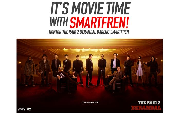 It's Movie Time The RAID 2 Berandal With Smartfren
