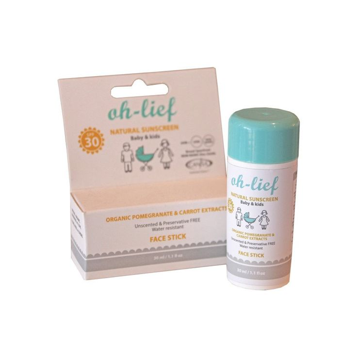 Natural Sunscreen Face Stick - Cosmetics - Baby Belle