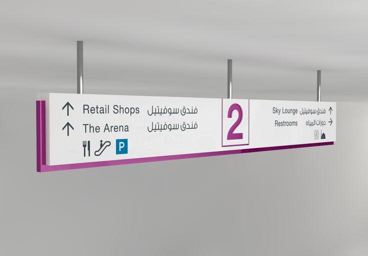 Our 3D ceiling mounted sign for Avenue Mall #AvenueMall  #signage #wayfinding #design #dezigntechnic #DubaiUAE #creativity www.dezigntechnic.com