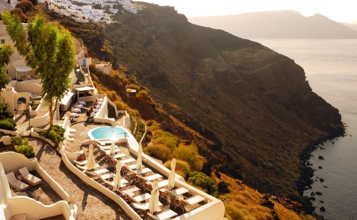 Santorini's 'Mystique' and 'Vedema' Among 5 Best Resort Hotels in Greece.