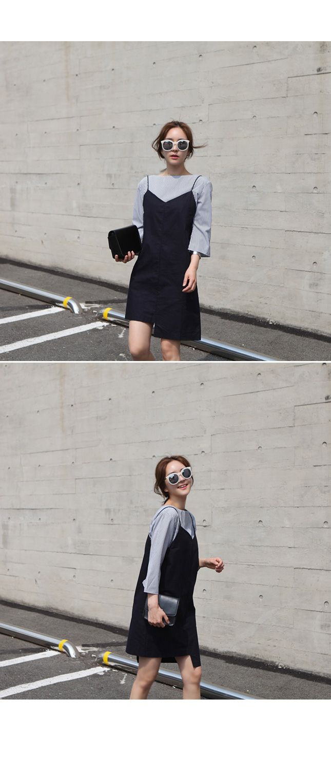 Kstyle black and grey outfit @jacintachiang