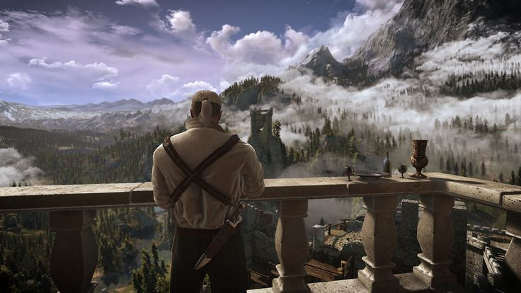 Today i played the Witcher 3 on pc for the first time in my life. This is the most beautiful thing i've ever seen.