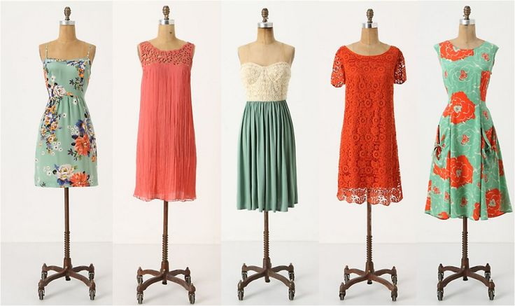 Love the idea of a mix of dresses for my wedding party but I just don't think it will work.