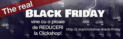 Black Friday la ClickShop