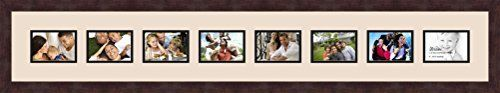 Art to Frames DoubleMultimat104482589FRBW26061 Collage Frame Photo Mat Double Mat with 8  35x5 Openings and Espresso frame ** More info could be found at the image url. Note: It's an affiliate link to Amazon.