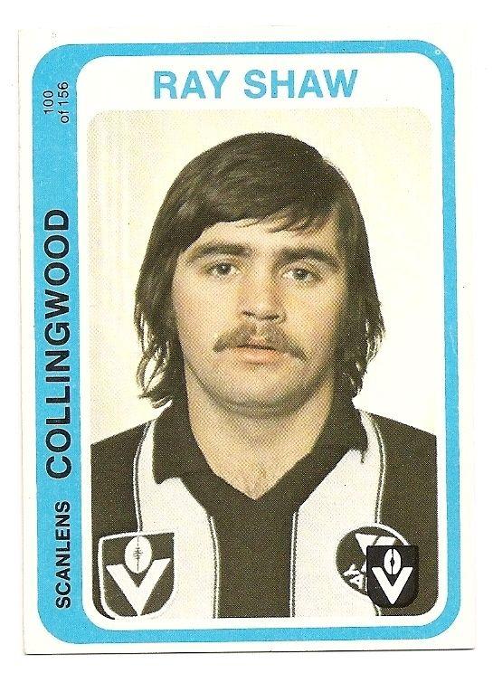 SCANLENS 1979 VFL/AFL FOOTBALL CARD #100 R.Shaw MINT (Collingwood) au.picclick.com
