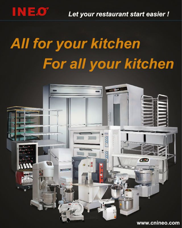 Kitchen Equipment(INEO are professional on commercial kitchen project)