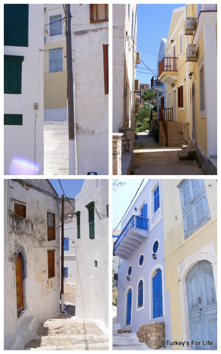 The Houses & Streets of Meis / Kastellorizo Things to do: http://www.turkeysforlife.com/2010/12/greek-island-of-meis-top-5-things-to-do.html