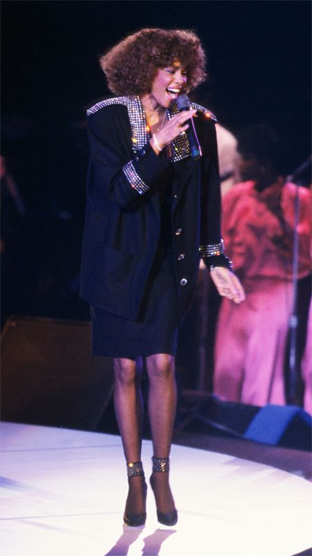16 VMA Moments We Wish We Could Relive - 1986: Whitney Houston Brings the House Down from #InStyle