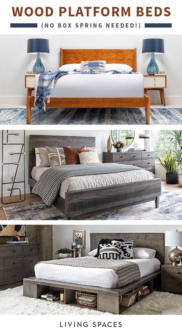 Designer Platform Bed Styles In Solid Wood Upgrade Any Bedroom