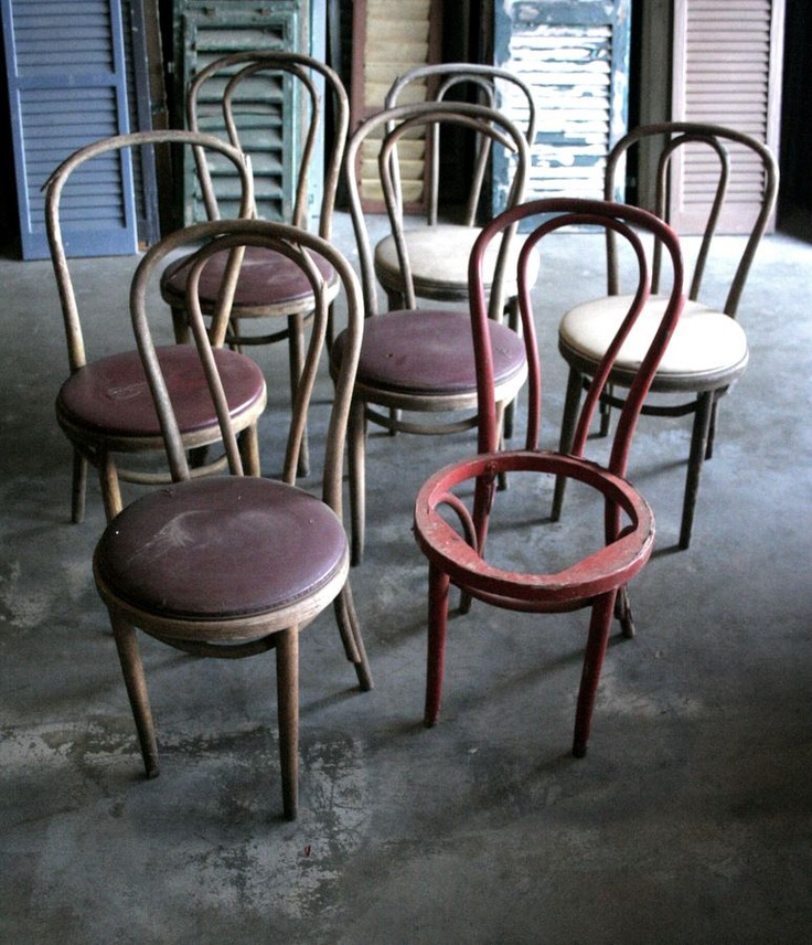 Some Cool Antique Chairs.