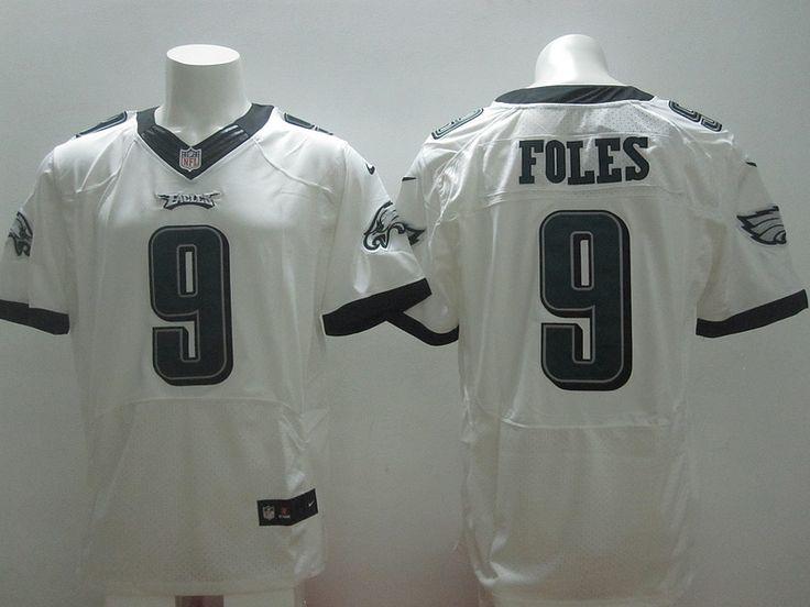 Philadelphia Eagles #9 Nick Foles White