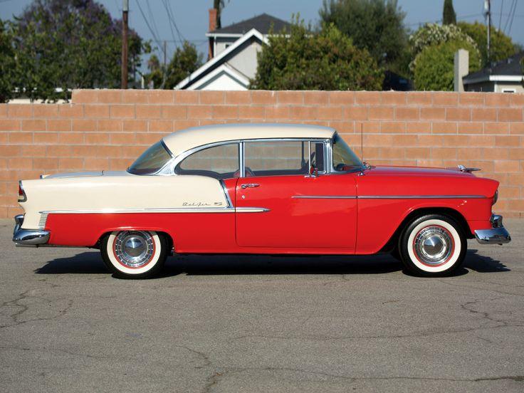 1955 Chevrolet Bel Air Sport Coupe (2454-1037D)