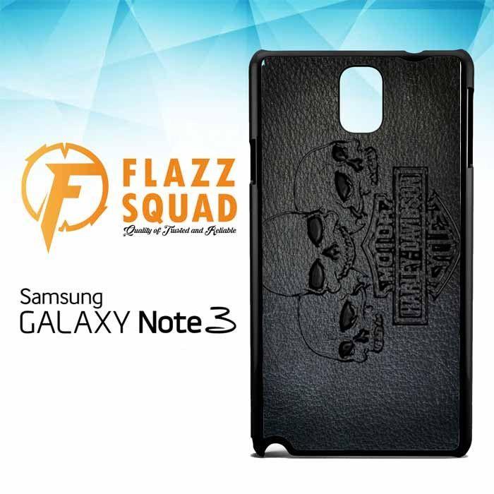 Harley Skull Wallpaper X4488 Samsung Galaxy Note 3 Case