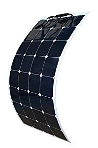 Amazon.com : WindyNation 100W 100 Watt 12V Bendable Flexible Thin Lightweight Solar Panel Battery Charger w/ Power Sunpower Cells for RV, Boat, Cabin, Off-Grid : Patio, Lawn & Garden
