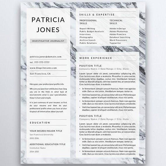 Modern And Minimalist Resume Template For Serious Professionals Resume Resumetips Cv Job Jobsear Resume Tips Resume Template Professional Resume Template