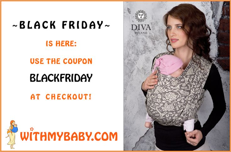 Buy your dream sling or baby wrap on Black Friday with 15% off and free shipping!