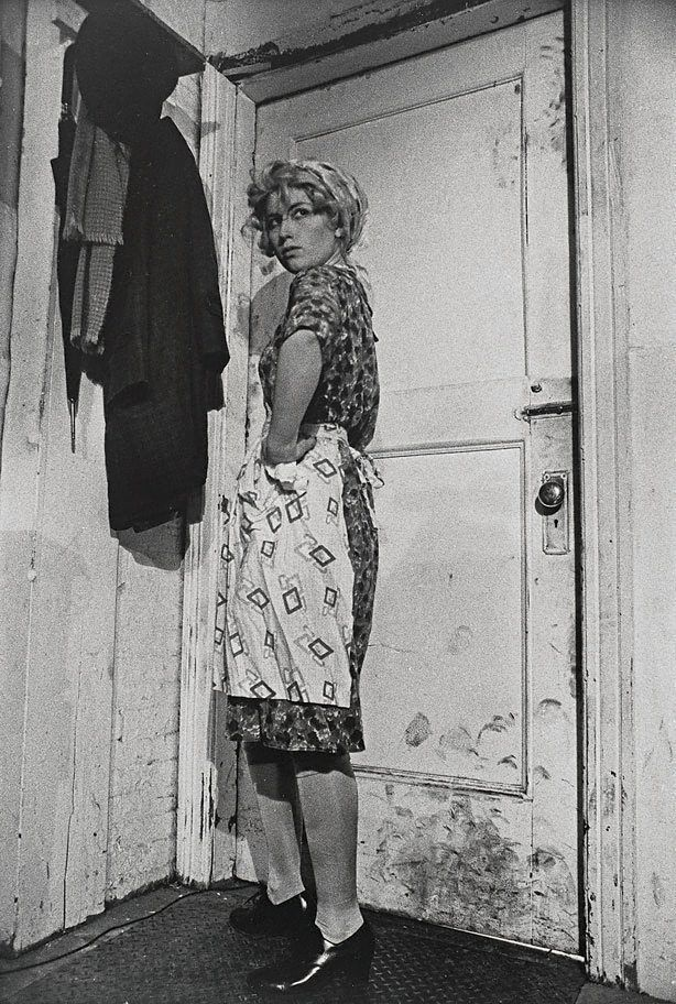 Cindy Sherman. Untitled Film Still #35, 1979. Series 'Untitled film stills' took place over a five-year period beginning in 1977 when she was 23 years old. In small black-and-white photographs, she impersonated various female character types from old B-grade movies and film noir. As both performer and director, Sherman investigated the diverse ways in which glamorous mass-mediated images socialise us or discipline us, fool us or placate us.