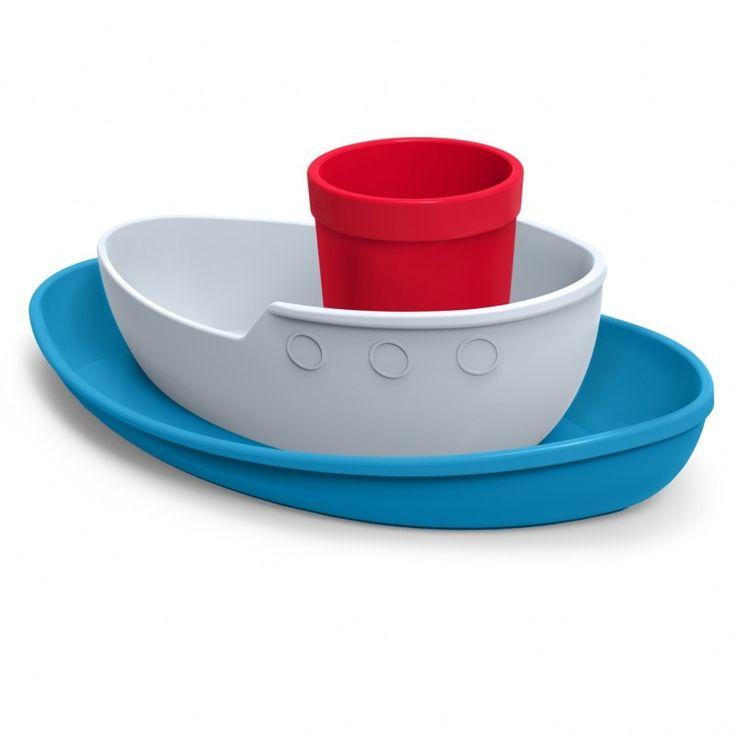 Tug Bowl - Dinner Set, czyli zestaw obiadowy w formie statku