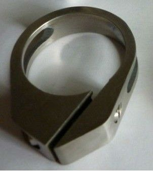 titanium alloy bicycle seat post clamps