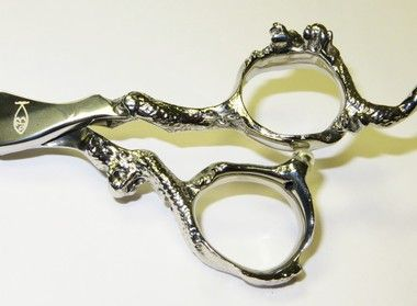 See a variety of beautiful shears for the stylist