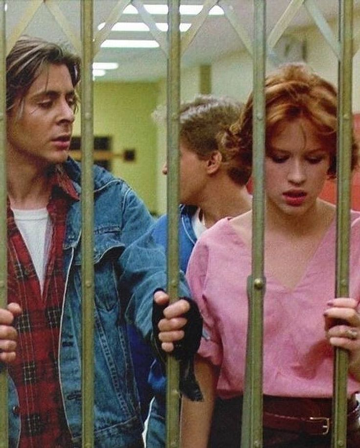 Judd Nelson, Emilio Estevez, and Molly Ringwald // The Breakfast Club (1985)