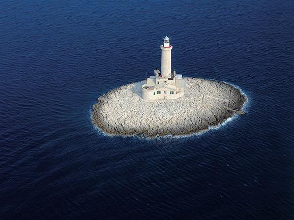 Leuchtturm Porer Pula Kroatien