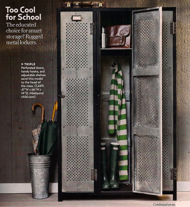 47 creative entryway and mudroom ideas - Lockers For Mudroom Entryway Metal Lockers Pinterest