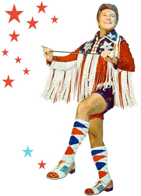 Have a dynamite 4th, darlings! Liberace would want you to!