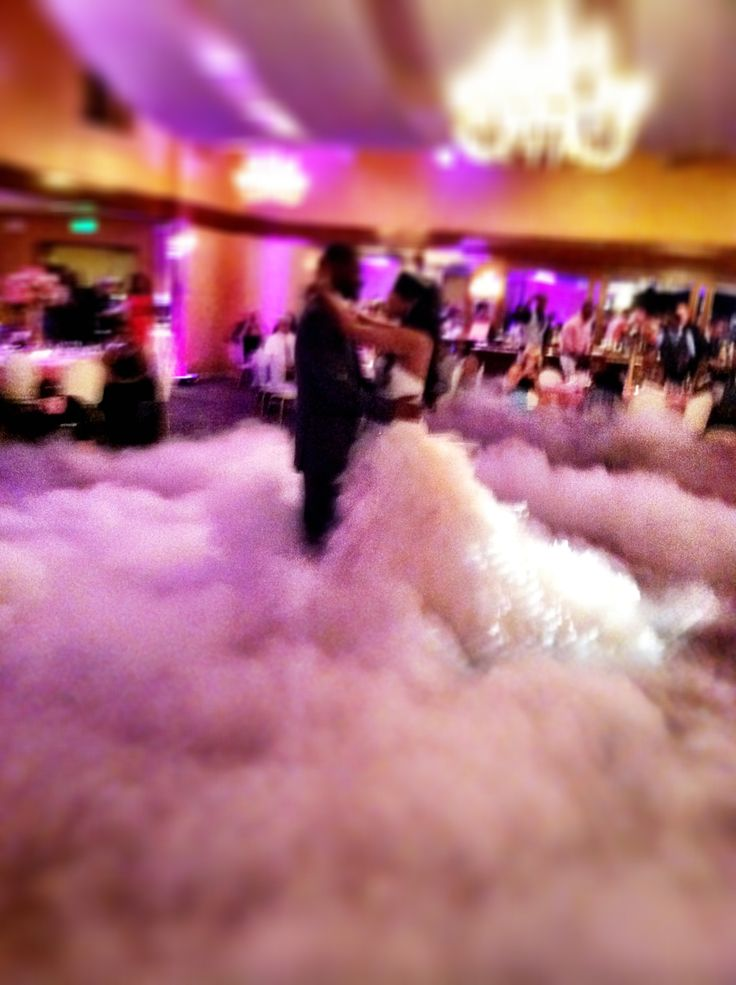 Dancing on a Cloud effect ay Arden Hills Resort & Spa.