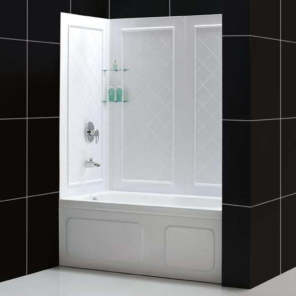 base wall showers kit imageid profileid and recipename corner imageservice shower costco