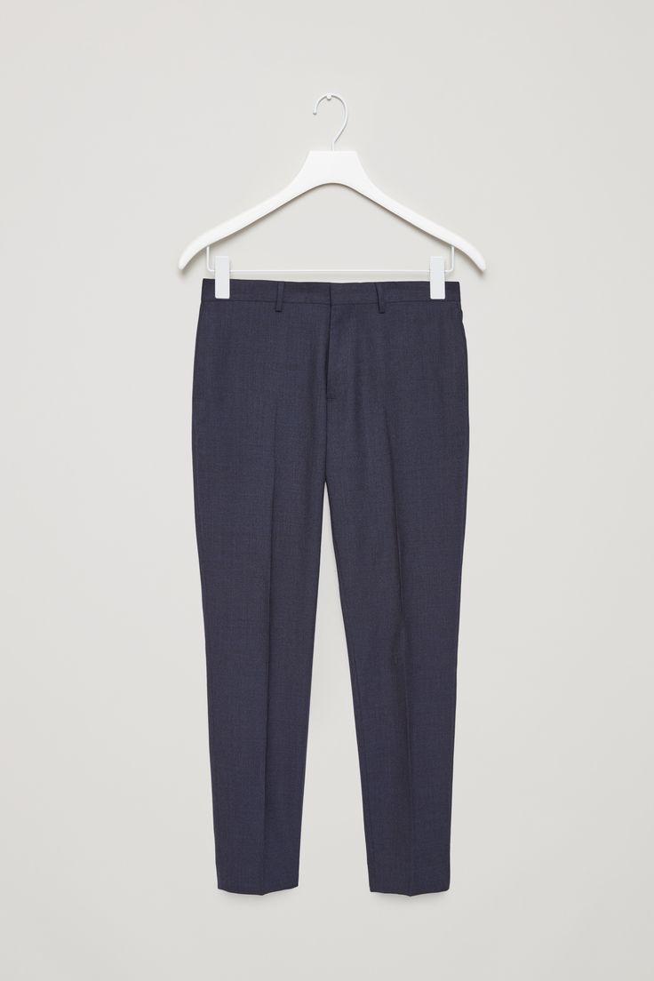COS   Wool melange trousers