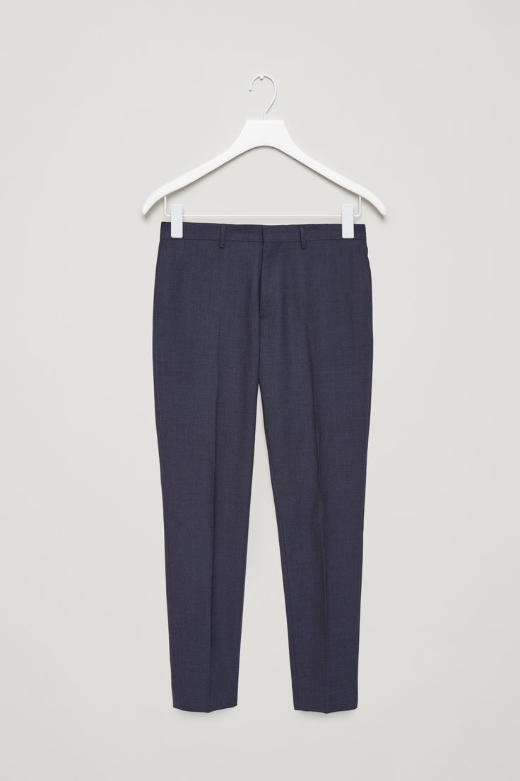 COS | Wool melange trousers