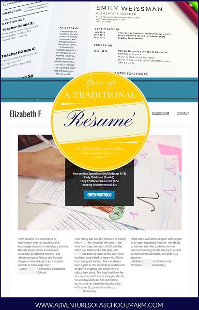319 best Adventures of a Schoolmarm images on Pinterest - steps to making a resume