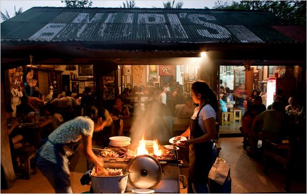 From melt-in-your-mouth roast pig to just-caught sashimi, streetside food vendors, known as warungs, offer some of the island's best food.