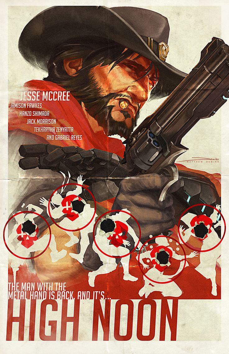 mcree in overwatch how to play