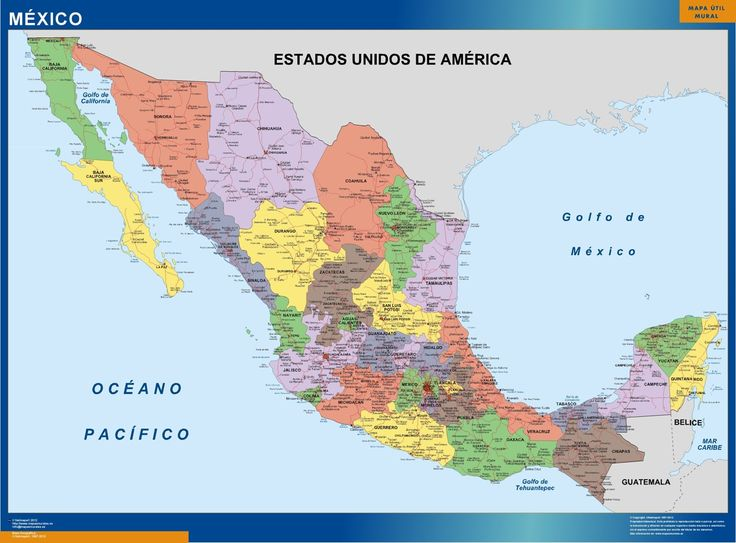 Best GO Maps Mexico Images On Pinterest Mexicans Mexico - Us map and mexico