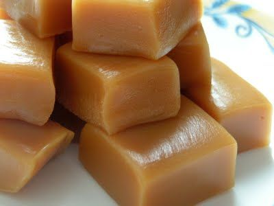 Homemade Caramels-going to try making these for the Holidays, my Meme used to make the BEST caramels. Maybe a little sea salt on top. Yum!